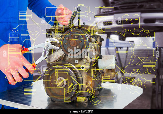 car engine diagram stock photos car engine diagram stock images composite image of male mechanic repairing car engine stock image
