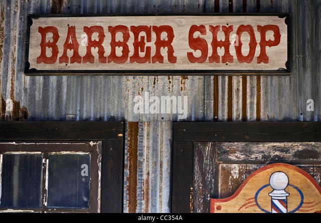 Old barber shop stock photos amp old barber shop stock images alamy