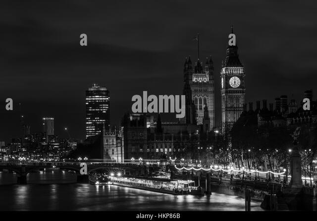 London Black And White Night