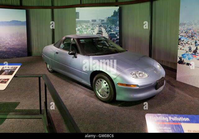 The first electric car stock photos the first electric for General motors electric car