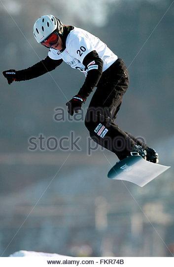 Portrait At The Ski Equipment Rental Near Hyundai Sungwoo