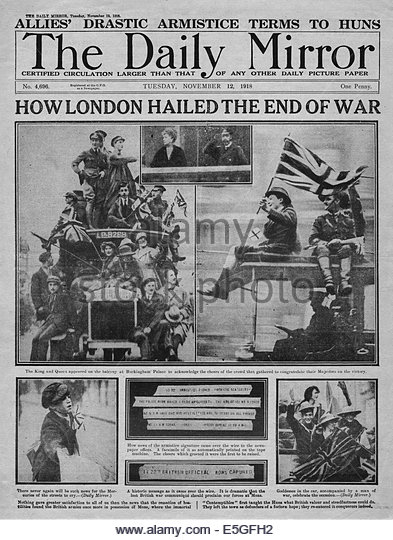 an analysis of the end for the world war one in 1918 The meuse-argonne offensive was a part of the final allied offensive of world war i it was one of the attacks that brought an end to the war and was fought from september 26 – november 11, 1918, when the armistice was signed.