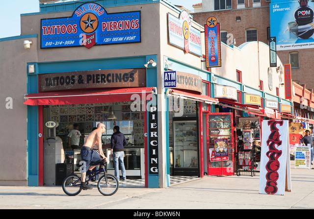 Henna Tattoo Venice Beach Ca : Venice beach tattoo stock photos