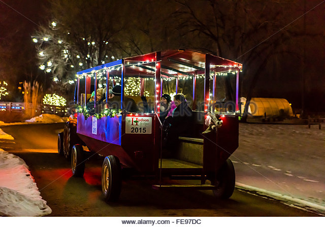 The Christmas Wagon Stock Photos The Christmas Wagon Stock Images Alamy