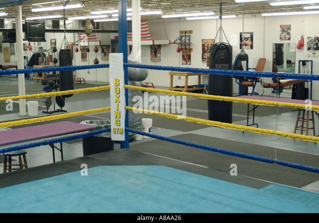 empty boxing gym - photo #6