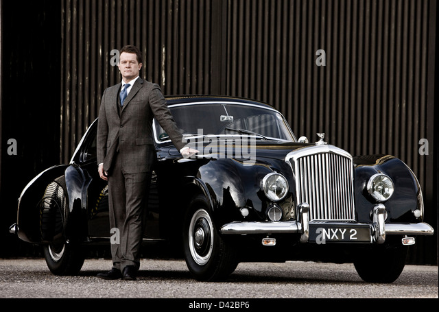 Chauffeur Bentley Stock Photos Chauffeur Bentley Stock Images - Bentley chauffeur