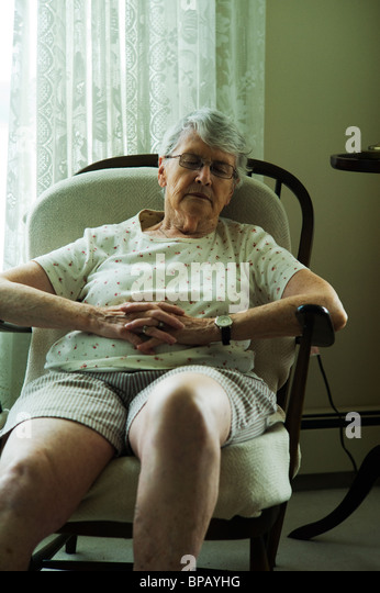 Old Lady Sleeping In Chair Pictures To Pin On Pinterest