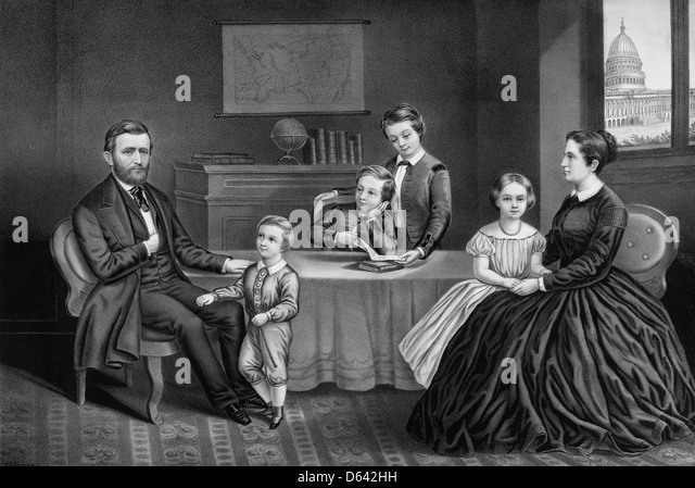 Ulysses S Grant Family Pictures
