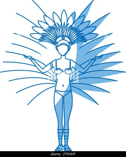 Carnival Headdress Isolated Stock Photos & Carnival Headdress ...