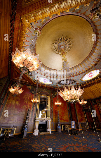 Music room chandelier stock photos music room chandelier stock the ornate chandeliers and fireplace of the music room in the royal pavilion brighton mozeypictures Image collections