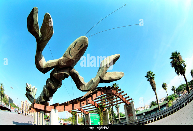 Giant lobster sculpture stock photos giant lobster for Xavier mariscal