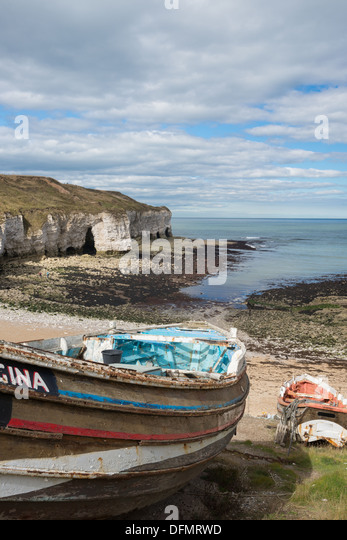 North landing flamborough head near stock photos north for Head boat fishing near me