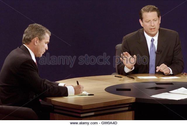 a conflict between george w bush and al gores candidacies The 2000 election between george w bush, the republican candidate, and democratic candidate al gore remains controversial because the vote between the two candidates was so close.
