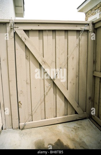 Fence Gate Closure Stock Photos Amp Fence Gate Closure Stock