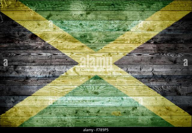 Jamaica Flag Painted On 3d Heart Stock Illustration 115137847 ...