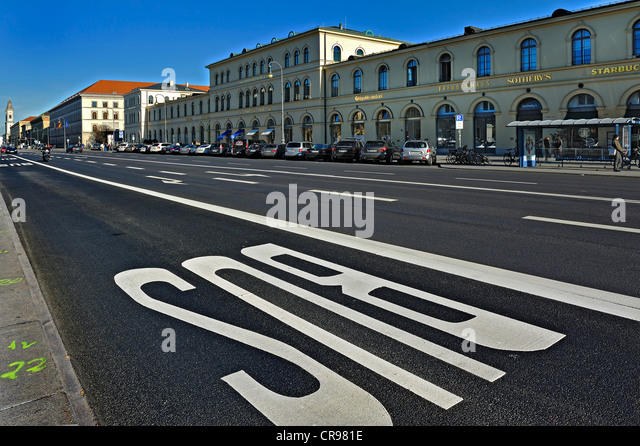 Lane Marking Stock Photos Amp Lane Marking Stock Images Alamy