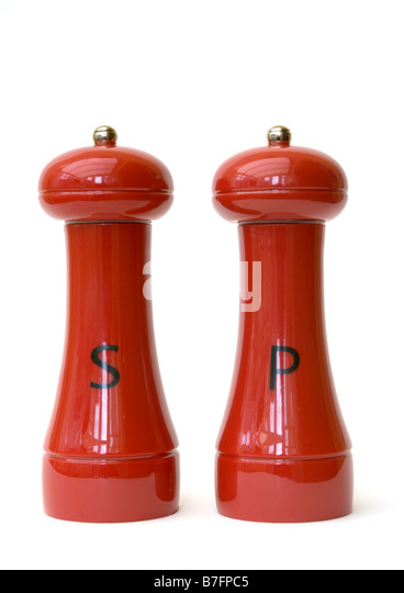 Salt and pepper pots stock photos salt and pepper pots Salt n pepper pots