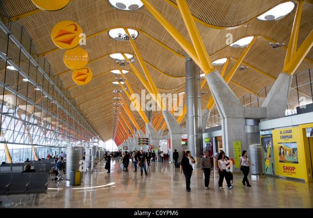 madrid airport departures