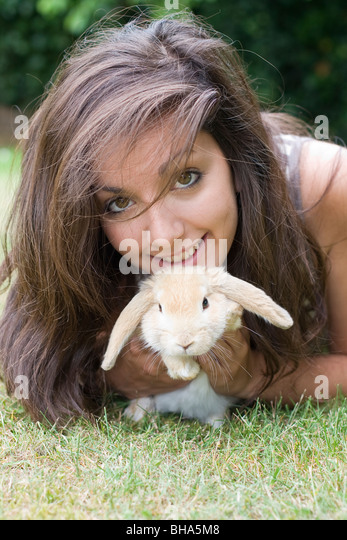 rabbit eared stock photos rabbit eared stock images alamy. Black Bedroom Furniture Sets. Home Design Ideas
