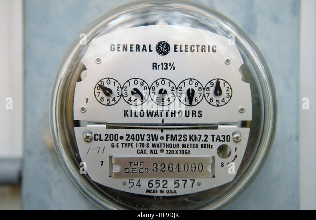 Electric Meter Stock Photos & Electric Meter Stock Images - Alamy