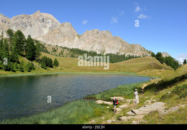 Ceillac stock photos ceillac stock images alamy for Lac miroir queyras