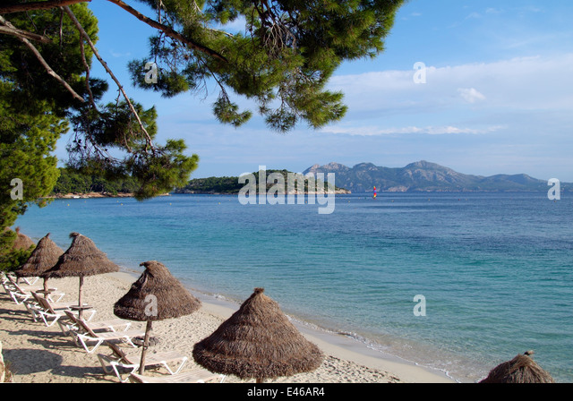Formentor Beach Majorca Stock Photos & Formentor Beach Majorca Stock Imag...
