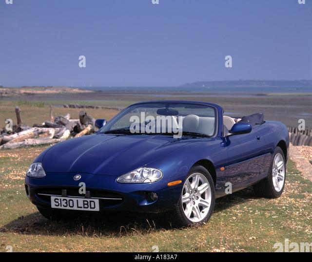 Jaguar Xk Convertible: Jaguar Xk8 Convertible Stock Photos & Jaguar Xk8