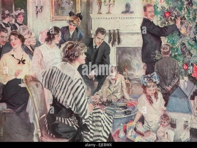 Christmas 1915 Stock Photos & Christmas 1915 Stock Images - Alamy