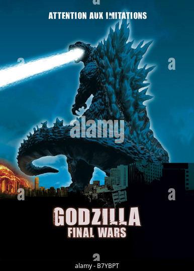 Godzilla Poster Stock Photos & Godzilla Poster Stock Images - Alamy