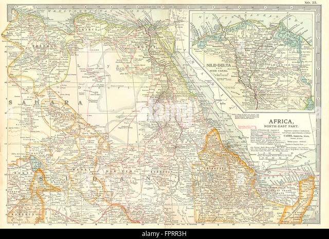 Ethiopian Map Stock Photos Ethiopian Map Stock Images Alamy - Map of egypt ethiopia
