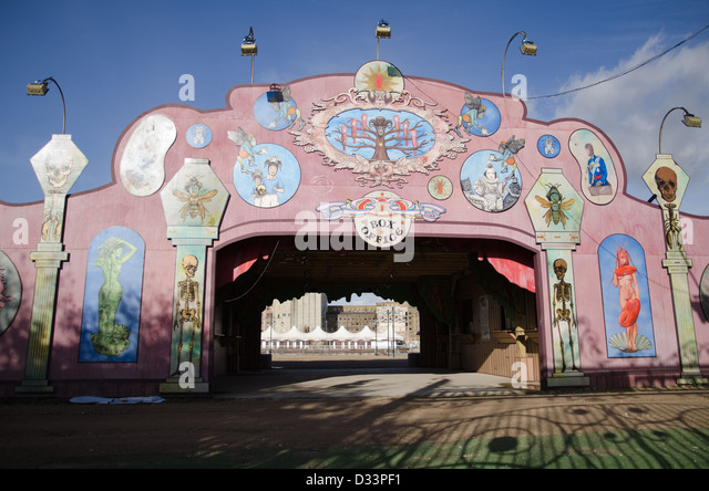 The Entrance To The Ill Fated London Pleasure Gardens In Silvertown, In  Londonu0027s Docklands