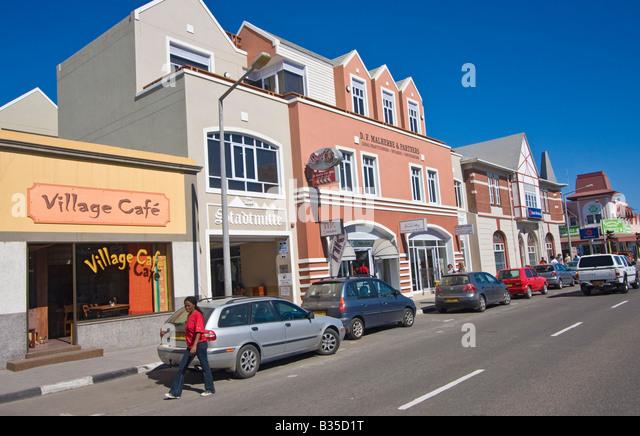 namibia swakopmund german architecture stock photos & namibia