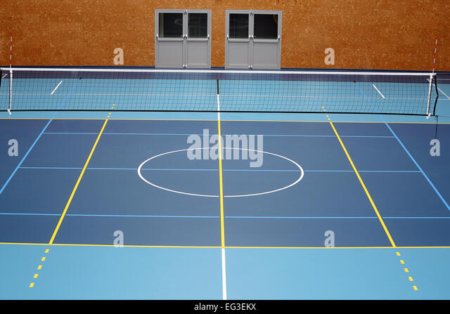 Indoor Volleyball Court Stock Photos & Indoor Volleyball Court ...