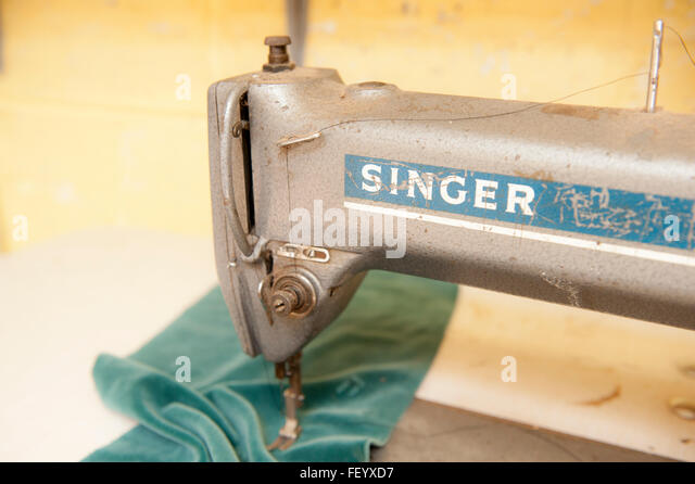 sewing machine factory
