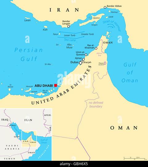 Arabian Sea World Map