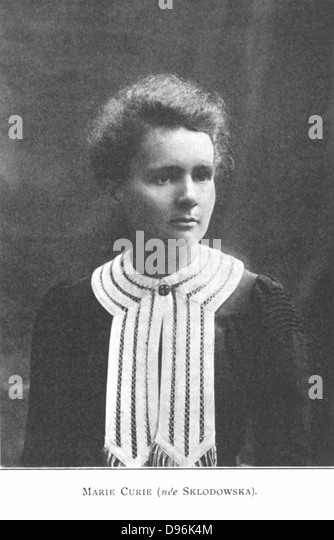 marie sk odowska curie physicist and chemist Marie curie was a famous polish chemistmarie and her husband pierre curie were early researchers in radioactivity she received her first nobel prize in 1903 for physics, together with pierre and henri bequerell, for research in the area of radioactivity.