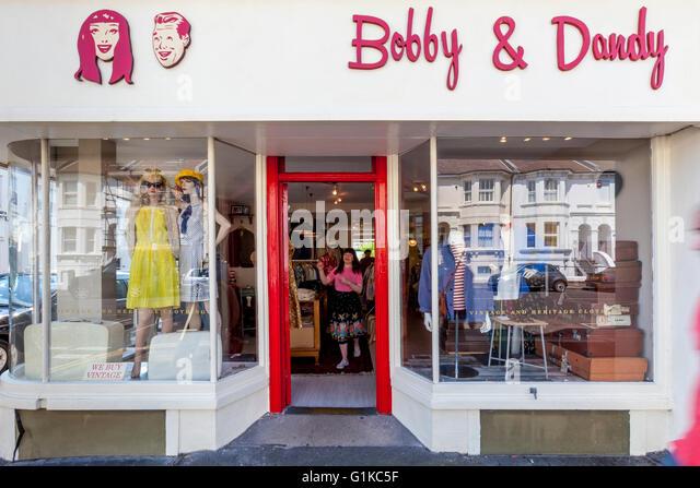 Bobby's clothing store