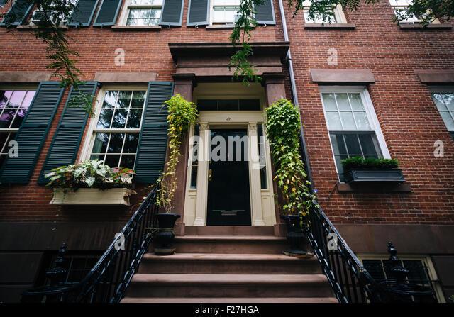 New york greenwich village apartment stock photos new for Nyc greenwich village apartments