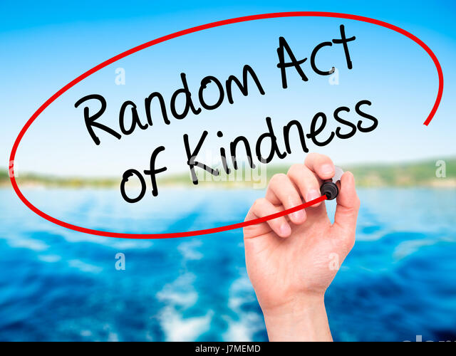 random acts of kindness essay A random act of kindness – an essay wouldn't take the check i offered her for the cash she just walked away since that day, i've been unable to get that scene out of my head.