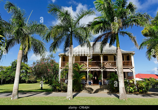 Mauritius colonial house stock photos mauritius colonial house stock images alamy for Jardin beau vallon maurice