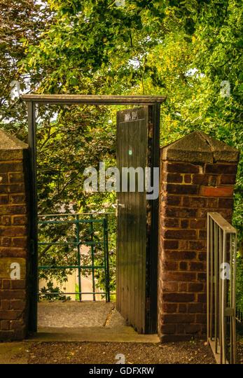 Fairy door stock photos fairy door stock images alamy for Outdoor fairy doors australia