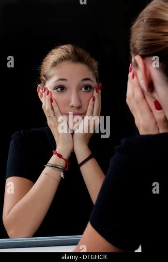 Specchio stock photos specchio stock images alamy - Venere allo specchio ...