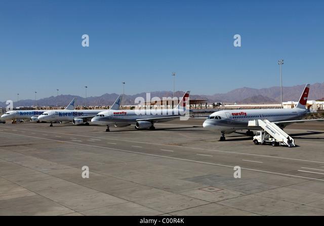 Aeroporto Sharm : Sharm el sheikh airport stock photos