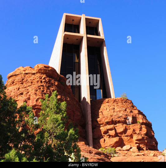 Sedona arizona chapel stock photos sedona arizona chapel for Sedona architects