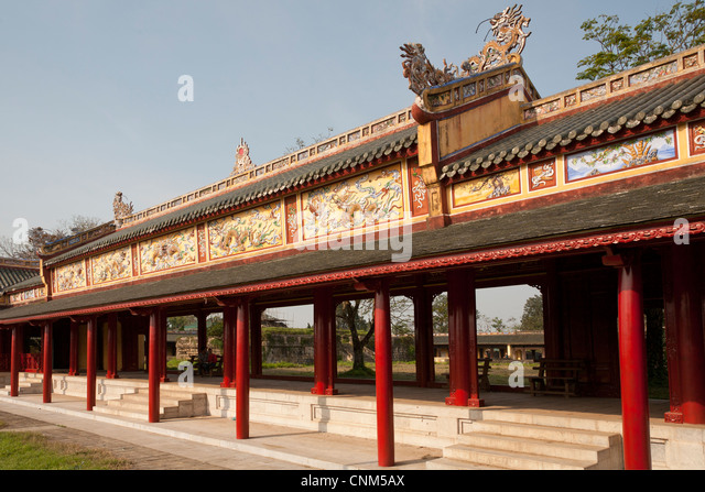 Forbidden city decorated stock photos forbidden city decorated stock images alamy - Decoratie corridor ...
