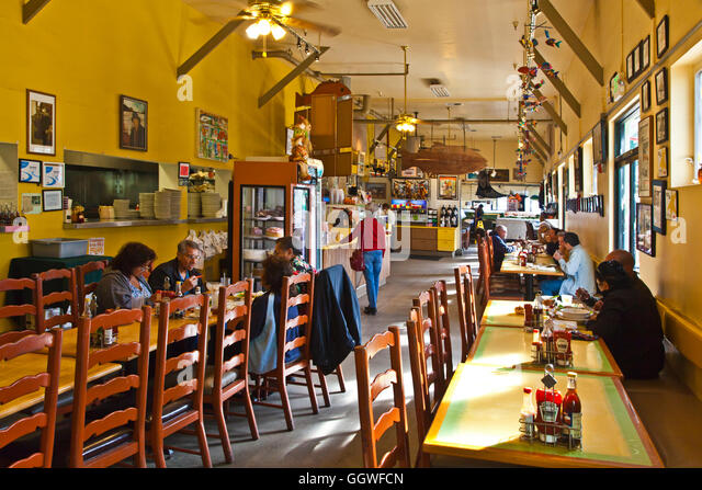 Eatery stock photos eatery stock images alamy for Phil s fish market moss landing