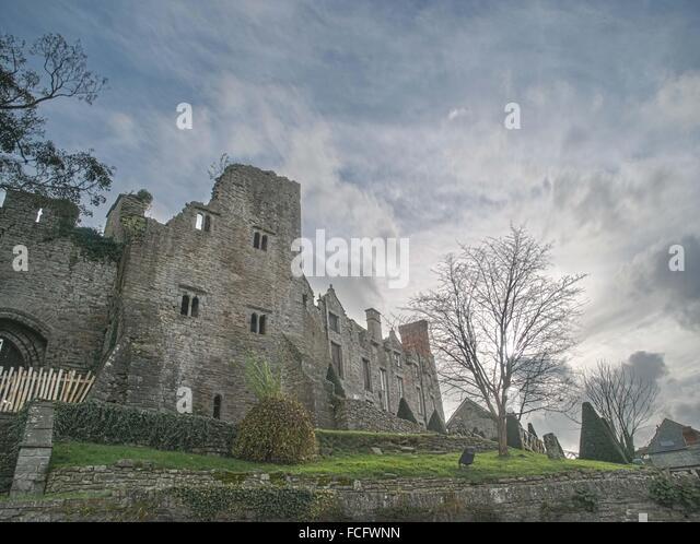 Hay-on-Wye United Kingdom  city images : Hay On Wye Castle Stock Photos & Hay On Wye Castle Stock Images ...