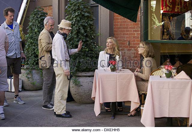 Woody Allen Shooting Picture Stock Photos Woody Allen
