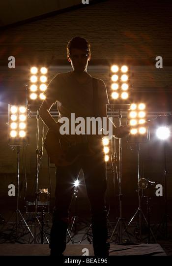 Guitarist Silhouette Stock Photos & Guitarist Silhouette ...