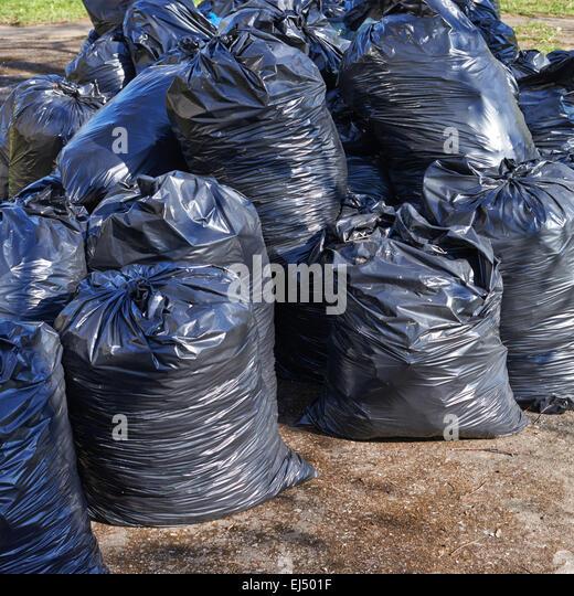 Pile Of Bin Bags Stock Photos & Pile Of Bin Bags Stock ...
